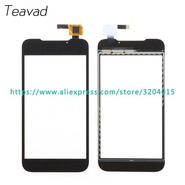 """High Quality 4.5"""" For ZTE Grand Era V985 U985 V955 Touch Screen Digitizer Sensor Outer Glass Lens Panel Black"""