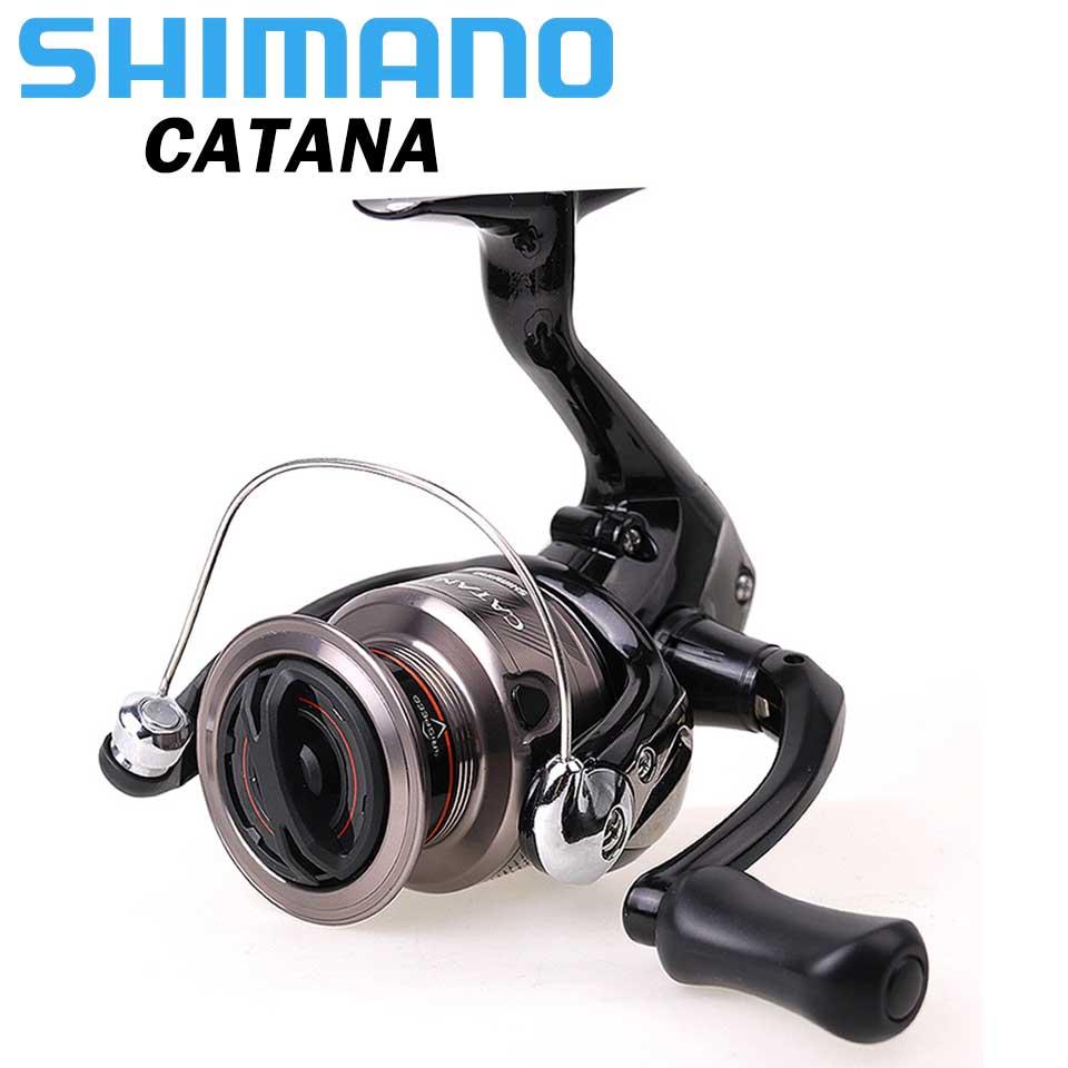 Original SHIMANO Reel CATANA Fishing spinning reel 2 1BB 1000 2500 3000 4000 3 0KG 8