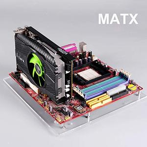 Image 5 - PC Open Frame Test Bench ITX  Mini ITX Motherboard Acrylic Overclock Computer Case DIY Mod Base Stand