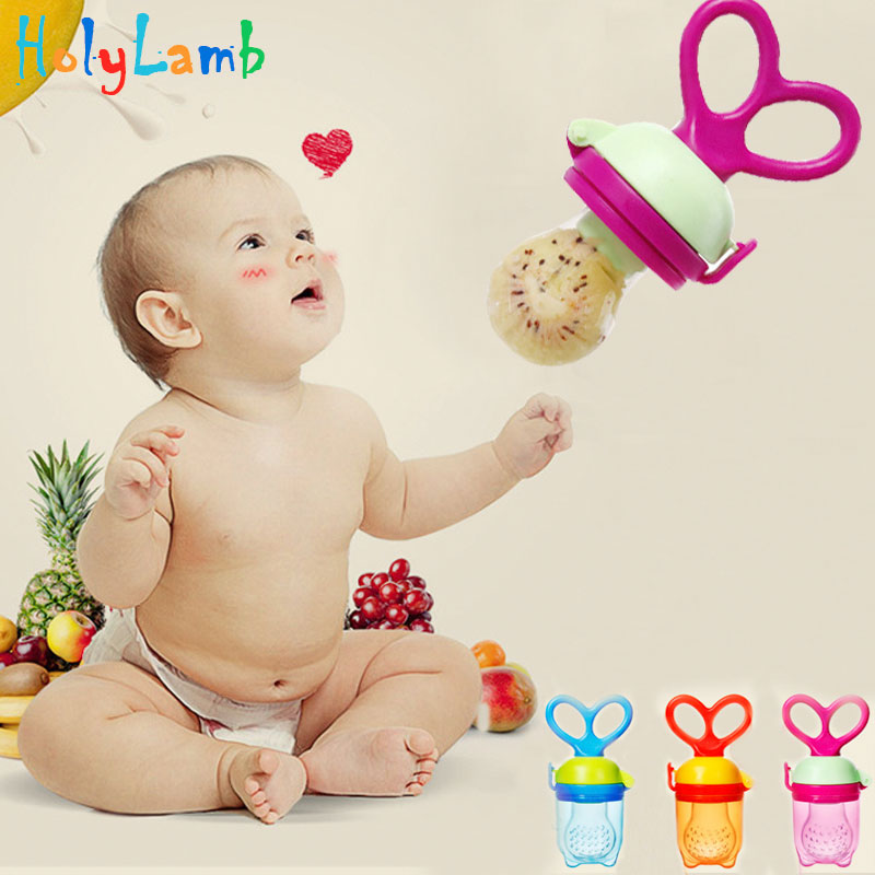 New Baby Pacifier Nipple Infant Fresh Food Milk Nibbler Feeder Newborn Feeding Tool Safe Vegetable Chew Supplies Bags Holder