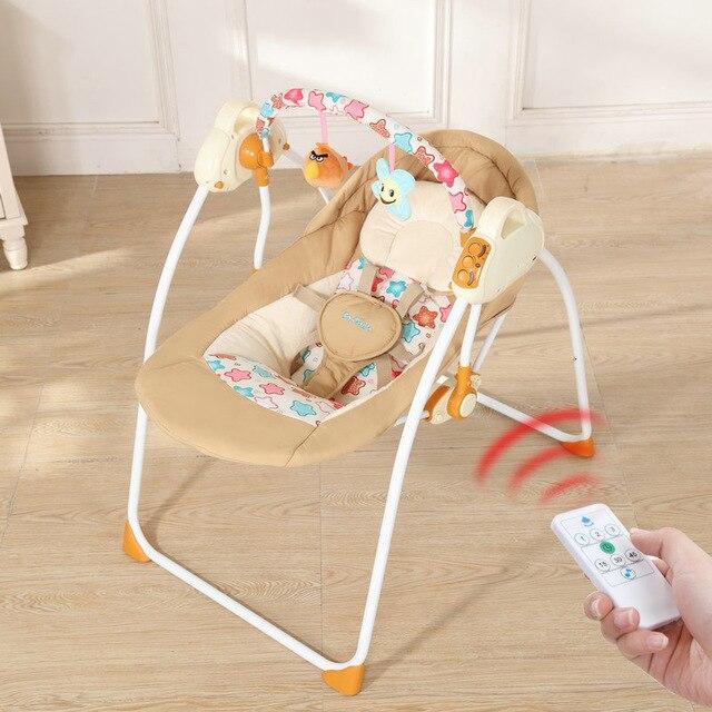 Cesta de Sono Do Bebê bebê Cama Berço Elétrico Cama Tremer Recém-nascidos Pequenos Artifactbaby Shaker Inteligente Do Sono Do Bebê com o Brinquedo da Música