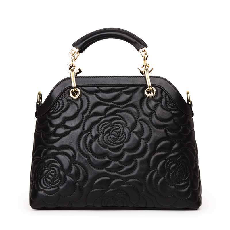 Famous Brand Classic Women Handbag Genuine Cow Leather Female Camellia Flower Crossbody Bags Fashion Tote Bag 5pcs 1s 3 2v 18650 li ion lithium iron phosphate battery protection board 2a with overcharge overdischarge protection