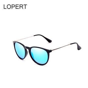 8fc1b2a1dca7 LOPERT Fashion Cat Eye HD Polarized Sunglasses Women Driving Glasses ...