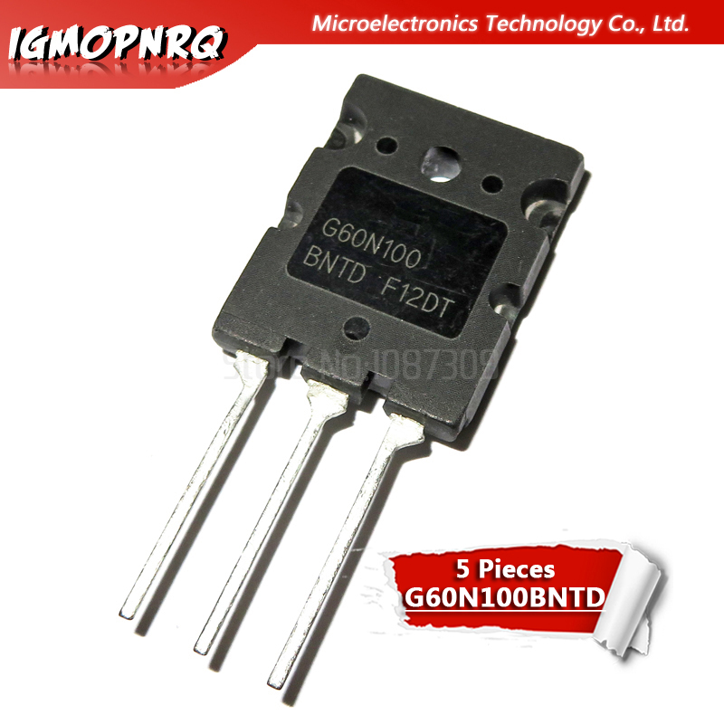 5pcs G60N100 G60N100BNTD Long-legged 60A1000V New Original