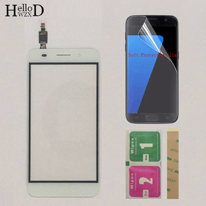 Image 3 - Touch Screen TouchScreen For Huawei Y3 2017 CRO U00 CRO L02 CRO L22 Touch Glass Front Digitizer Panel Sensor + Protector Film