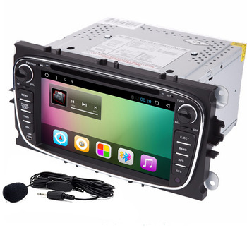 Qual core Android 8.01 Car DVD GPS player For Ford Mondeo Focus 2S-max 2012 2013 2014 2015 with Radio Autoradio Navigation image