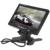 Venda quente! 7 Polegada Cor Ecrã LCD TFT de 234x480 Visão Traseira Do Carro Monitor com Saída de Áudio + E306 18mm Cor CMOS/CCD Car câmera