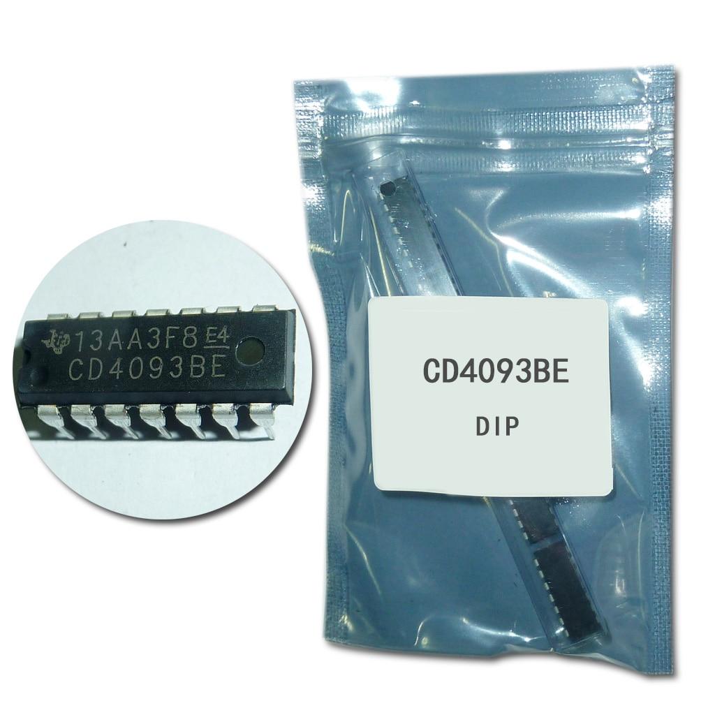 (20Pcs/lot) CD4093BE DIP CD4093 4093 DIP-14