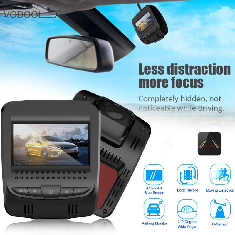 VODOOL 2.45 3G WiFi Mini Car DVR Camera Automobiles Digital Video Recorder Night Vision Dash Cam Camcorder GPS Track Playback 1 pair car led lights 12 24v drl head lights 8w turn light strip