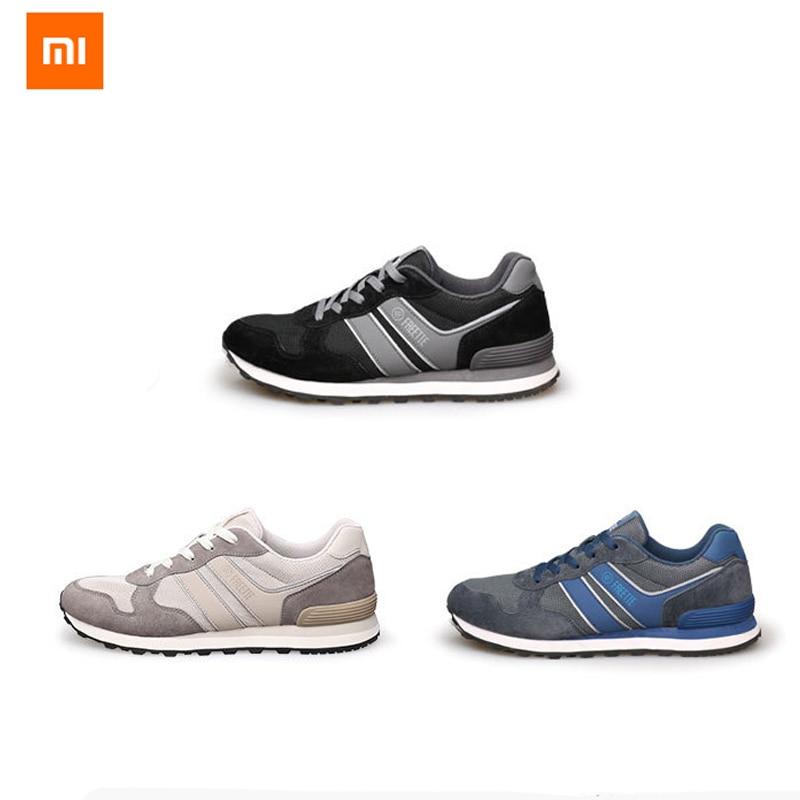 Chaussures de sport 3 couleurs d'origine Xiaomi FREETIE 80 chaussures de sport rétro respirant maille rafraîchissante confortable et Stable pour homme-in Télécommande connectée from Electronique    1