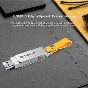 Image 3 - קודאק K133 עט כונן USB 3.1 מתכת USB דיסק און קי 16GB 32GB זיכרון מקל USB 3.0 64GB 128GB U דיסק 256GB pendrive USB מקל
