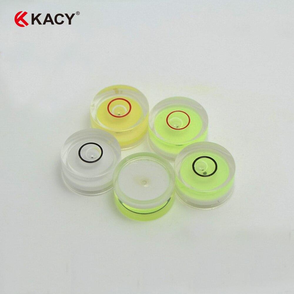 Bullseye Mini niveau /à bulle rond en acrylique Vert 25 x 10 mm