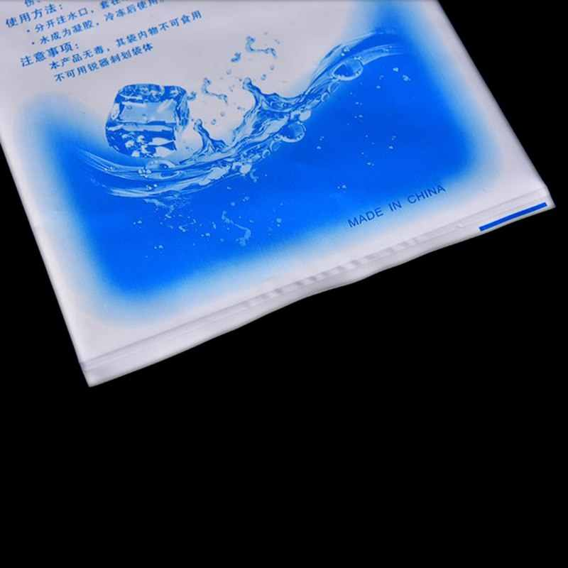 5/10 قطع رخيصة معزول في-مخصصة قابلة لإعادة الاستخدام الجافة الباردة الجليد حزمة هلام برودة الغداء مربع الغذاء علب النبيذ الطبية 3 أحجام