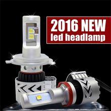 2016 из 2 предметов LED H4 H7 H8 H9 H11 9005 9006 HB3 HB4 PSX24 PSX26 5202 72 Вт 6500 К белый холодной G8 автомобиль свет комплект