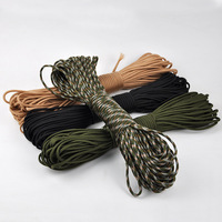 Hot 7 Core Strand 100FT 550 Paracord Kit For Parachute Cord Bracelet Survival Kits Outdoor Climbing