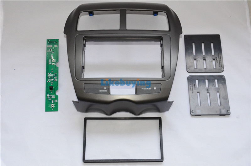 2 Din Car Frame Dash Kit / Car Fascias for Mitsubishi ASX 2010 2011 2012 2013 For 177*99.6mm size 2 Din head unit Free Shipping