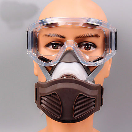 PM2.5 haze Dust Mask + goggle protective Anti-Dust Respirator Filter cutton Mask breather valve Painting Spraying industrial windproof anti dust mask eyes protection goggles filter protective respirator painting spraying face mask breathable mouth mask