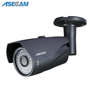 Security-Camera New-Product CCTV Infrared-Night-Vision Waterproof Gray Bullet Metal 4MP