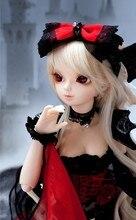 Luodoll BJD куклы SD кукла девочка SOOM как AI СНМП fairyland Chloe 1/4 девочка (Бесплатная глаза + бесплатная Косметика)