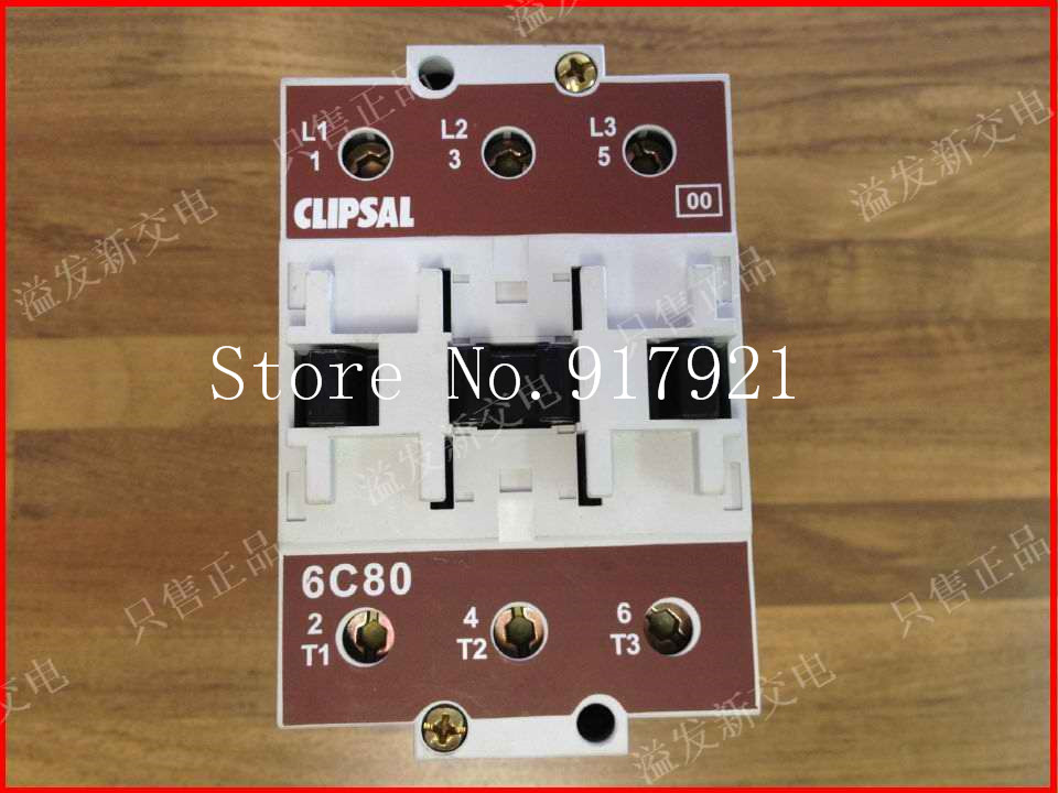 [ZOB] The original CLIPSAL Clipsal 6C80 220V 125A AC contactor