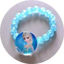 Disney Детская кукла аксессуары жемчужный браслет принцесса браслет Jewelry F