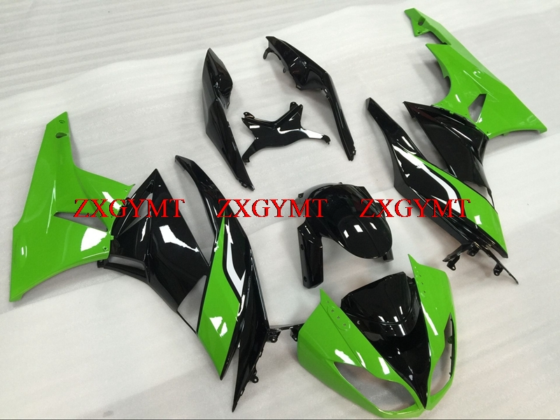 Full Body Kits for Zx6r 2009 - 2012 Fairings Zx6r 2010 Green Black Body Kits for Kawasaki Zx6r 2012Full Body Kits for Zx6r 2009 - 2012 Fairings Zx6r 2010 Green Black Body Kits for Kawasaki Zx6r 2012