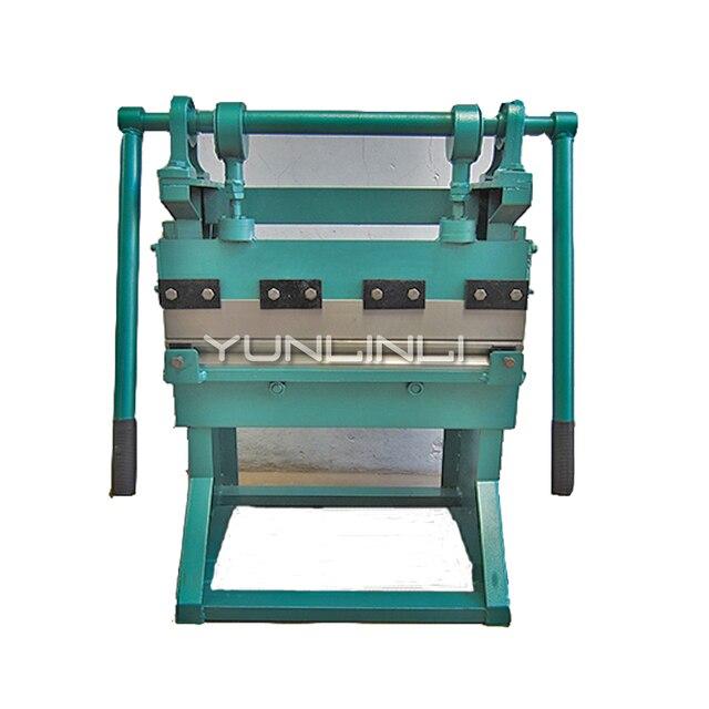 Machine à cintrer manuelle 0.6m bureau plaque cintreuse étiquette cintreuse à Angle droit cintreuse
