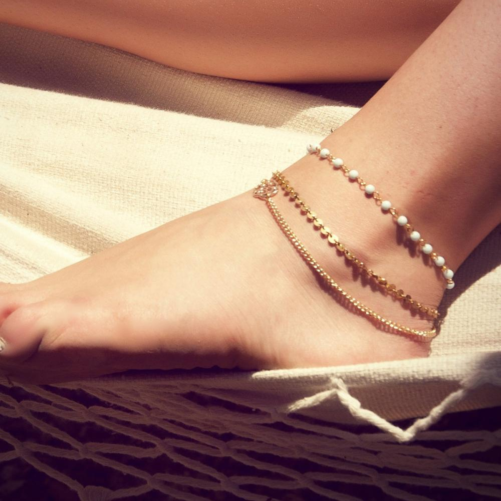 2017 Hot Summer Beach Ankle Infinite Foot Jewelry Anklets ankle bracelets for women