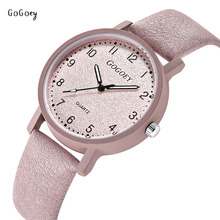 Brand Women's Watches Fashion Leather Wristwatches Women Ladies Casual Quartz Watch Dress Clock Mujer Relojes Mujer GOGOey 508G стоимость