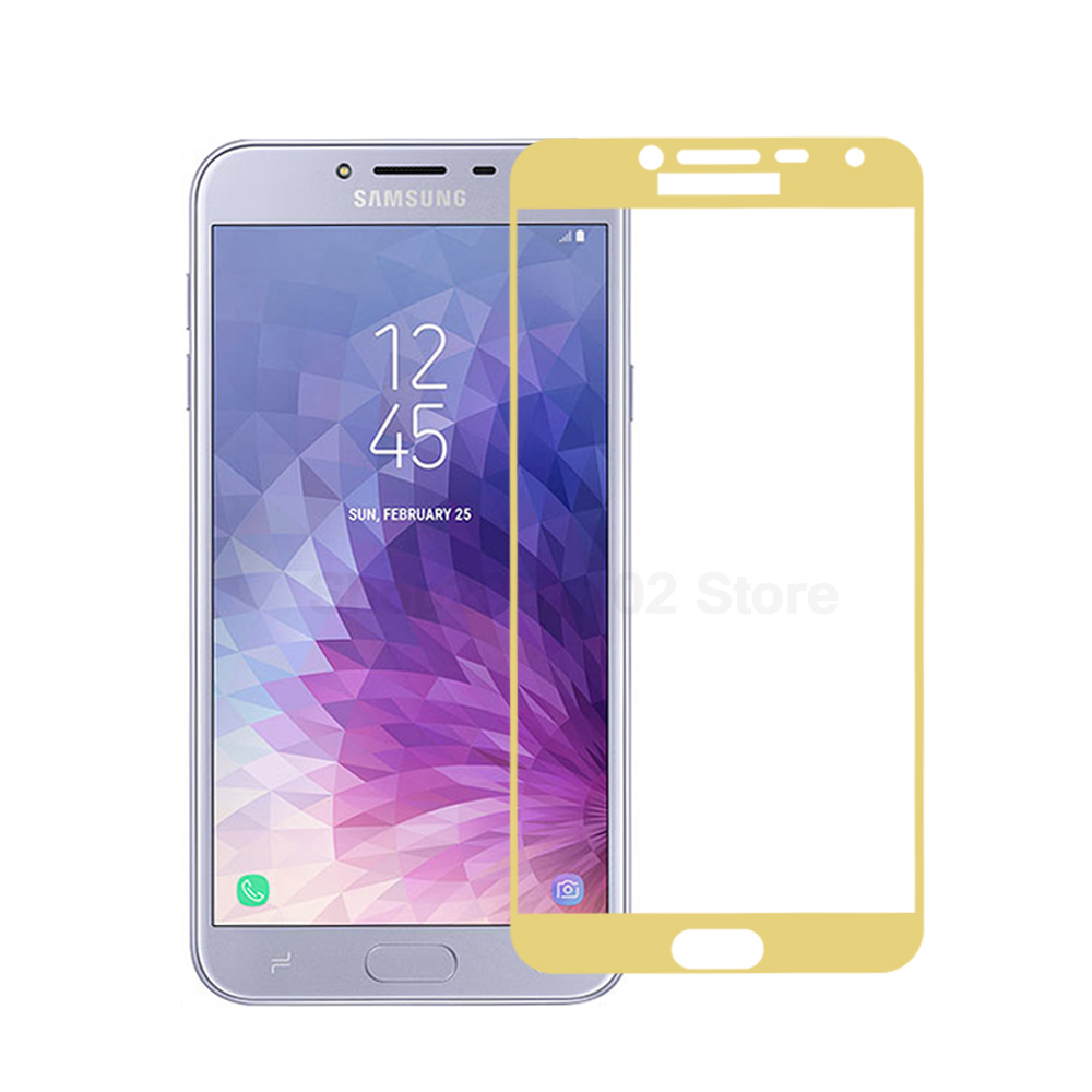 Image 5 - For Samsung J4 2018 Tempered Glass For Samsung Galaxy J4 2018 J400 J400F SM J400F Protective Film Samung J 4 2018 screen cover-in Phone Screen Protectors from Cellphones & Telecommunications
