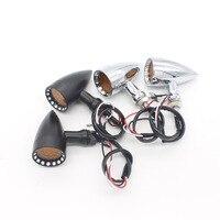 2 PCS Motorcycle Turn Signal Light Front Rear Motor Lamp Indicator Light LED Fit For Yamaha