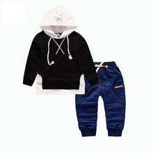 Kids Garment Spring Autumn Children Boys Girls Sport Clothing Suits Baby Hoodies Pants 2Pcs/Sets Fashion Toddler Tracksuits недорго, оригинальная цена