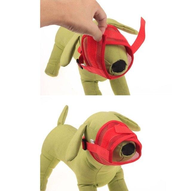 Nuovo Cinturino Regolabile Mask Mesh Traspirante Per Il Piccolo Cane di Grandi Dimensioni bocca Muso Formazione Pet Anti Bark Morso Masticare Cane museruole
