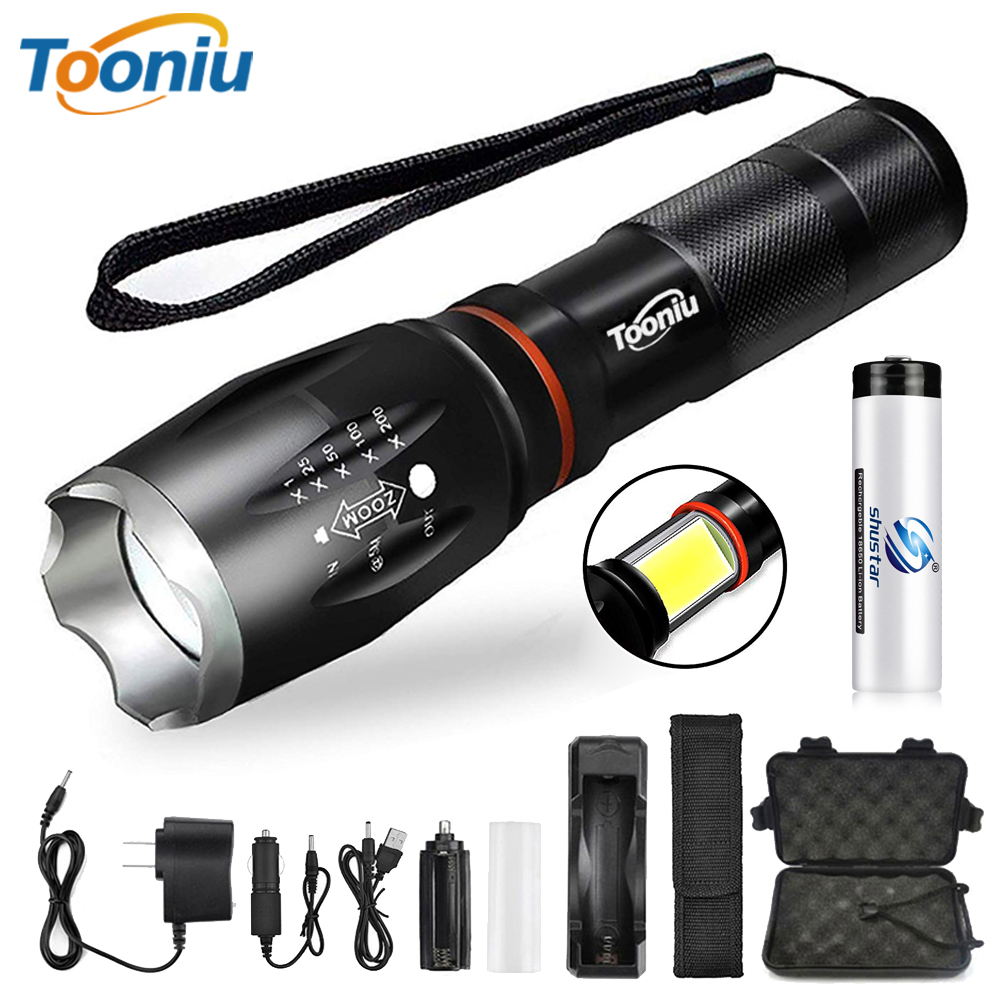 Glare LED Flashlight COB Side work light Zoomable LED Torch 6 lighting modes Tail magnet Adsorbable For camping, cycling, etc.Glare LED Flashlight COB Side work light Zoomable LED Torch 6 lighting modes Tail magnet Adsorbable For camping, cycling, etc.