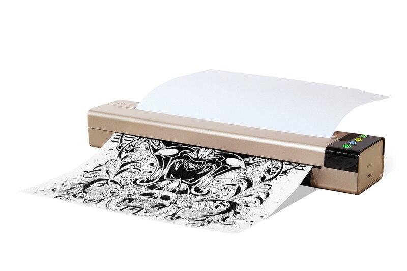 Professionnel De Haute Qualité Mini Thermique Copieur Dessin Thermique Pochoir Copieur Pour Tatouage Transfert A4 Papier DHL Livraison Gratuite