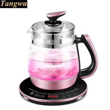 Fully automatic and thick-filled glass pot multi-functional electric kettle with multi-function heating smal