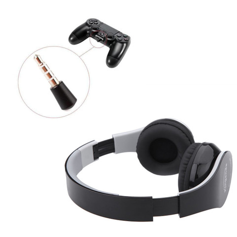 NEW Kinganda Wireless Bluetooth Headsets With Receiver USB For PS4 Game PC PRO Gaming Headphone For Running With Microphone Pakistan