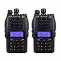 2 unids rt23 retevis uhf + vhf walkie talkie repetidor de banda cruzada de doble ptt dual recibir 1750 hz aficionados radio comunicador a9122a