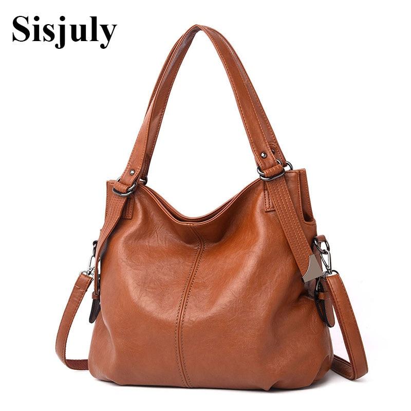 Sisjuly Luxury Handbag Women Bags Designer Genuine Leather Ladies Shoulder Bag Big Capacity Women Classic Messenger Bag Tote Sac