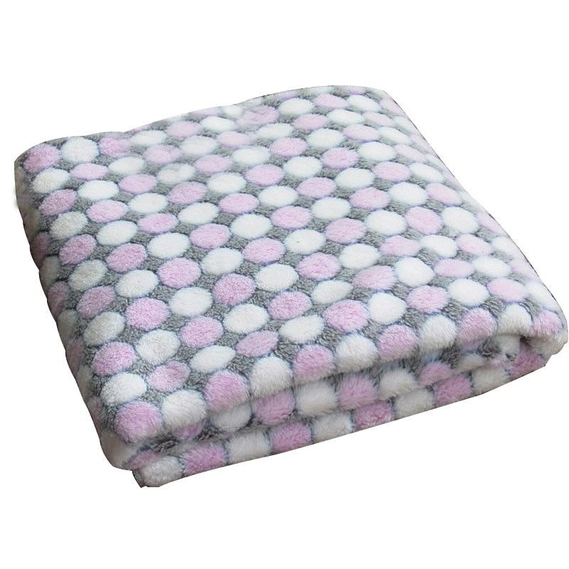 3 tamaño de la manta de perro de lana suave impresión de punto de - Productos animales - foto 5