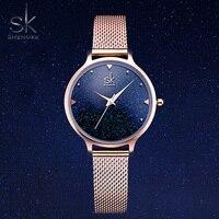 Sk Luxury Brand Starry Sky Watch Women Fashion Waterproof Quartz Ladies Watches Rose Gold Alloy Wristwatch Relogio Feminino Hot