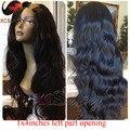 Natural Body Wave 8-26inches Brazilian U Part Wigs Virgin Hair Long Wavy U Part Human Hair Wigs 1x4 Left Part Opening U Part Wig