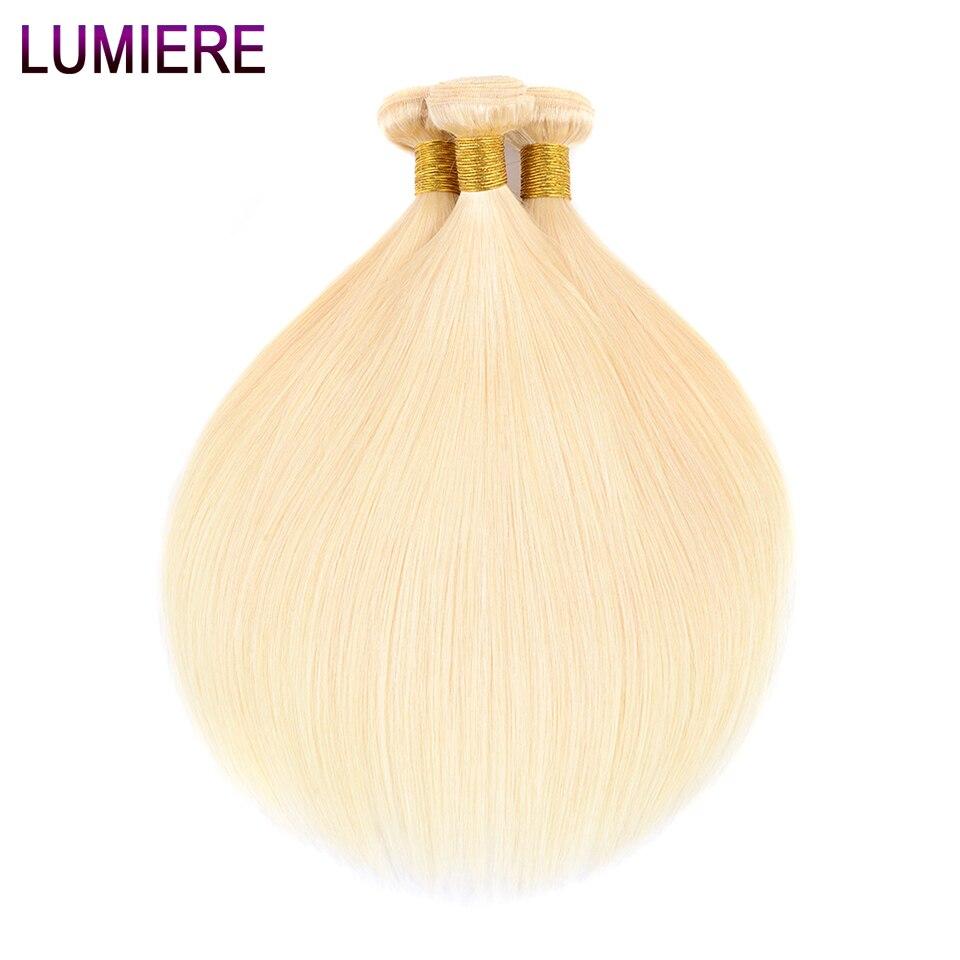 Lumiere Hair Malaysian Human Hair Bundles 613 Honey Blonde Bundles Hair 100 Human Hair Extensions Non