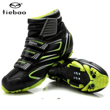 Tiebao Cycling Shoes For Women & Men Winter Cycle Cycling MTB bike Self-locking Shoes Bicycle Boot Sapatilha Ciclismo Zapatillas