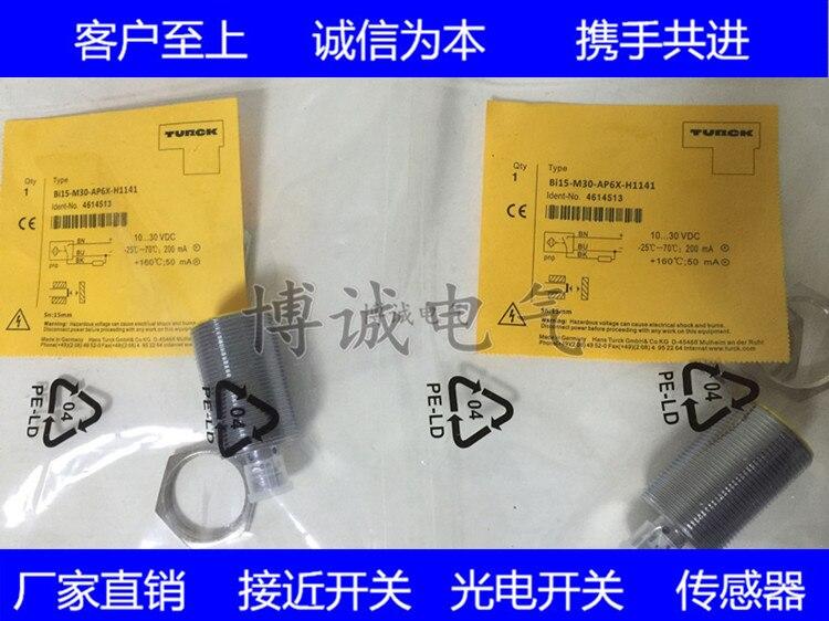 Spot Cylindrical Proximity Switch Bi10-M30-AZ3X-H1141 Warranty For One Yea