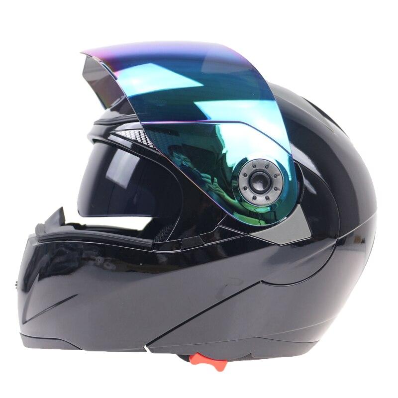 Professional Flip Up Motorcycle Helmet JIEKAI Brand Motorbike Helmet Double Lens Helmet Windshield Can Be Choose