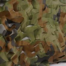 1,5x4 м простая лесная камуфляжная сетка для кемпинга военный Камуфляжный сетчатый навес для охоты, пеших прогулок, спорта на открытом воздухе без края