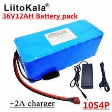 2019 Новый LiitoKala 36 V 12AH электрический велосипед с батареей встроенный литиевый аккумулятор BMS 20A 36 вольт с зарядкой 2A Ebike батарея