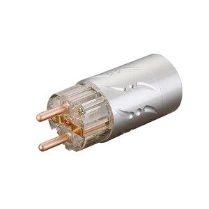 Image 4 - Prise dalimentation ue Viborg VE512 + VF512 99.998% cuivre sans connecteur de coque en alliage daluminium plaqué