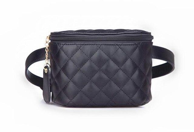 35187907e Fashion Lattice Ladies Bag Waist Fanny Pack Belt Bag Pouch Travel Hip Bum  Bag Womens Small